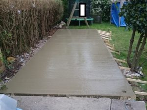 Concrete base