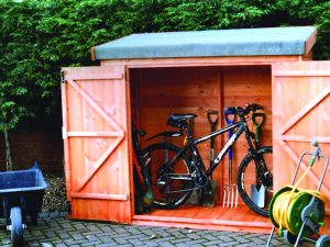 Tool tidy shed