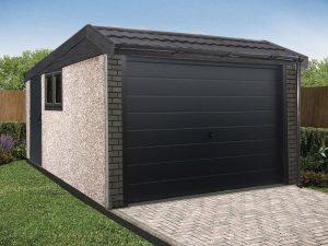 mansard garage