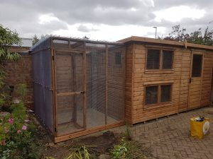 Kennels, coops and aviaries