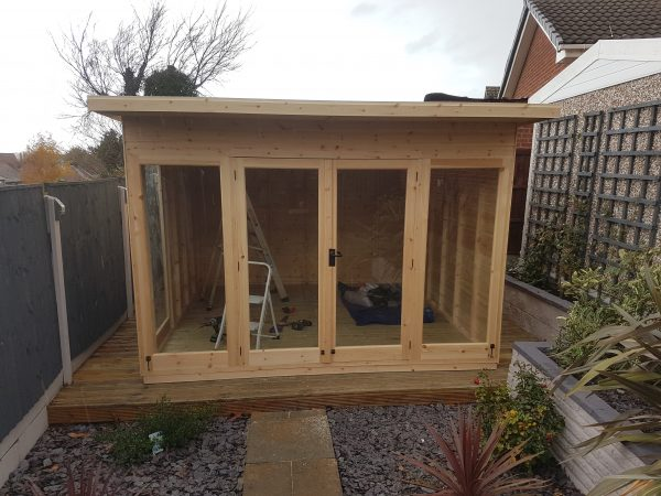 modern summerhouse
