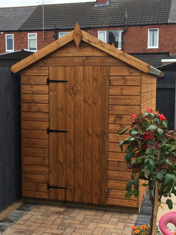 pitch roof shed