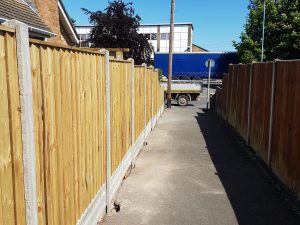 Fences and landscaping