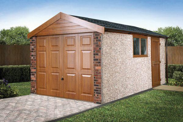 tile garage roof