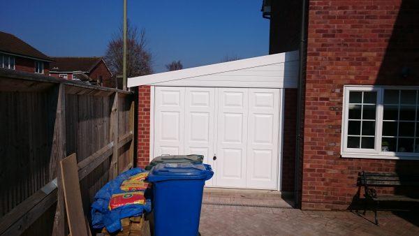 Lean to garage