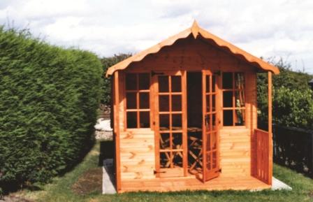 Apex summerhouse