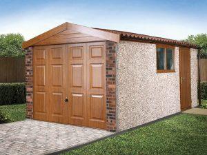 apex roof garage