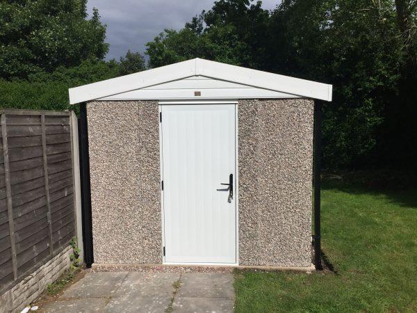 concrete apex shed